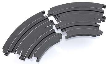 AFX 6 Curve Track 1/8 (2) -- HO Scale Slot Car Track -- #70611