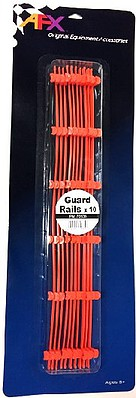 AFX HO Guard Rails (10) (New Packaging)