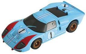 AFX HO 1966 Ford GT40 #1 LeMans (Miles/Hulme) Mega-G Collectors HO Scale Slotcar Car #71245