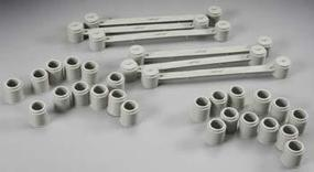 AFX Bridge Support 4-Lane (6) HO Scale Slot Car Part #8713