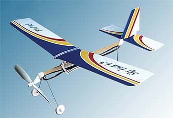 rubber band powered plane instructions