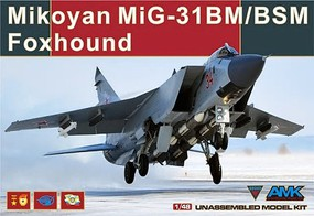 AMK 1/48 MiG31BM/BSM Foxhound Fighter