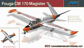 AMK 1/48 Fouga CM170 Magister 2-Seater French Jet Trainer