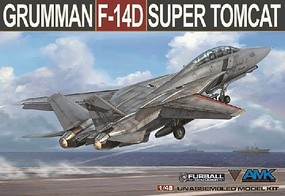 AMK 1/48 F14D Super Tomcat Fighter (New Tool)
