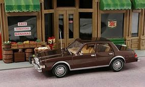 American-Heritage 1985 Dodge Diplomat (Brown) O Scale Model Railroad Vehicle #43700