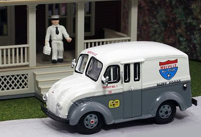 American Heritage Car Co. 1950 Delivery Truck- Melville All Star Dairy Foods -- HO Scale Model Railroad Vehicle -- #87006
