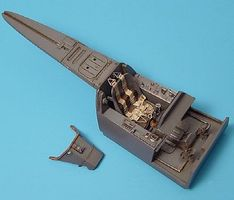 Aires Fw190D9 Cockpit Set For a Hasegawa Model 1/32 Scale Plastic Model Aircraft Accessory #2010