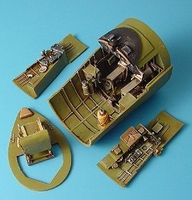Aires F4U1 Cockpit Set For a Trumpeter Model 1/32 Scale Plastic Model Aircraft Accessory #2021