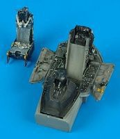 Aires F16C/CJ Cockpit Set For a Tamiya Model Plastic Model Aircraft Accessory 1/32 Scale #2066