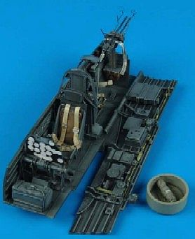 Aires Hobby Ju87D/G Stuka Cockpit Set For a Hasegawa Model -- Plastic Model Aircraft Accessory -- 1/32 -- #2068
