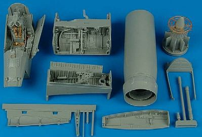 Aires F8J Detail Set For a Trumpeter Model Plastic Model Aircraft Accessory 1/32 Scale #2100
