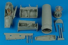 Aires F8E/H Crusader Detail Set For a Trumpeter Model Plastic Model Aircraft Accessory 1/32 #2110