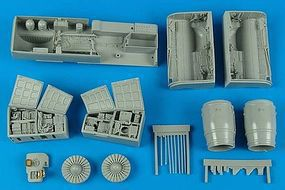 Aires Su25K Frogfoot A Detail Set For Trumpeter Model Plastic Model Aircraft Accessory 1/32 #2170