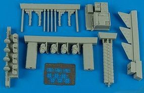 Aires He111P1/2, H1/2 Armament Set For a Revell Model Plastic Model Aircraft Accessory 1/32 #2186