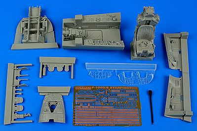 Aires F104G Starfighter Cockpit Set For ITA Plastic Model Aircraft Accessory 1/32 Scale #2197