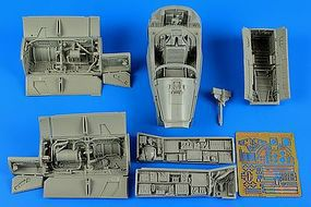 Aires A7E Corsair II Early Detail Set For TSM Plastic Model Aircraft Accessory 1/32 Scale #2200