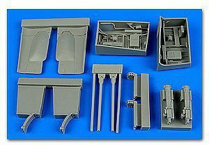 Aires Fw190F8 Gun Bay for RVL (Resin) Plastic Model Aircraft Accessory 1/32 Scale #2206