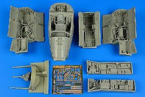 Aires A7E Corsair II Late Detail Set For TSM Plastic Model Aircraft Accessory 1/32 Scale #2210