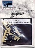 Aires 7.92mm MG15 Gun Plastic Model Aircraft Accessory 1/48 Scale #4024