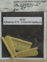 Aires Albatros D V Flaps For an Eduard Model Plastic Model Aircraft Accessory 1/48 Scale #4029