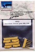 Aires German 30mm Gun Mk 108 Plastic Model Aircraft Accessory 1/48 Scale #4043