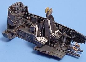 Aires Ju88A4 Cockpit Set For a Revell Model Plastic Model Aircraft Accessory 1/48 Scale #4052