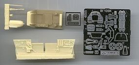 Aires Bf109K Cockpit Set For HSG (D) Plastic Model Vehicle Accessory 1/48 Scale #4055