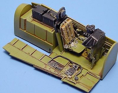 Aires P51D Cockpit Set For a Tamiya Model Plastic Model Aircraft Accessory 1/48 Scale #4072