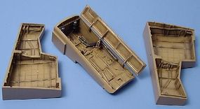 Aires Dornier Do335 Wheel Bay For a Tamiya Model Plastic Model Aircraft Accessory 1/48 #4106