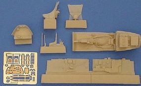 Aires P38J Cockpit Set For a Hasegawa Model Plastic Model Aircraft Accessory 1/48 Scale #4113