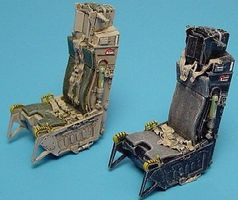 Aires Aces II Ejection Seats For F15 Plastic Model Aircraft Accessory 1/48 Scale #4144