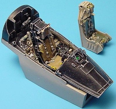 Aires A7E Cockpit Set For a Hasegawa Model Plastic Model Aircraft Accessory 1/48 Scale #4147