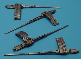 Aires Colt Mk 12 20mm Cannons Plastic Model Military Weapon 1/48 Scale #4181