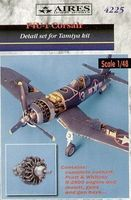Aires F4U1 Detail Set For a Tamiya Model Plastic Model Aircraft Accessory 1/48 Scale #4225