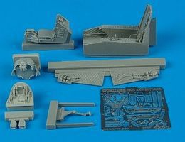 Aires A4M Skyhawk Cockpit Set For a Hasegawa Model Plastic Model Aircraft Accessory 1/48 #4280
