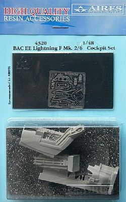 Aires BAC EE Lightning F Mk 2/6 Cockpit For Airfix Plastic Model Aircraft Accessory 1/48 #4320