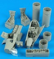 Aires RF4B Detail Set For a Hasegawa Model Plastic Model Aircraft Accessory 1/48 Scale #4330