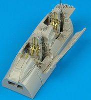 Aires F14D Cockpit Set For a Hasegawa Model Plastic Model Aircraft Accessory 1/48 Scale #4333