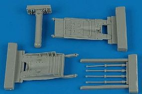 Aires MiG29 Fulcrum Air Brakes For an Academy Model Plastic Model Aircraft Accessory 1/48 #4365
