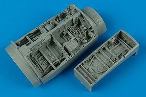 Aires F16C Wheel Bays For a Tamiya Model Plastic Model Aircraft Accessory 1/48 Scale #4370