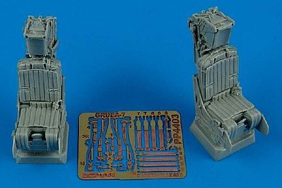 Aires Hobby A6E/EA6A MB Gruea7 Ejection Seats For Revell -- Plastic Model Aircraft Accessory -- 1/48 -- #4403