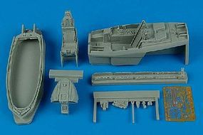 Aires F22A Cockpit Set For an Academy Model Plastic Model Aircraft Accessory 1/48 Scale #4410