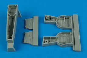 Aires P39 Wheel Bays For a Hasegawa Model Plastic Model Aircraft Accessory 1/48 Scale #4420