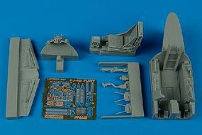 Aires FJ4B Cockpit Set For a Hobby Boss Model Plastic Model Aircraft Accessory 1/48 Scale #4448