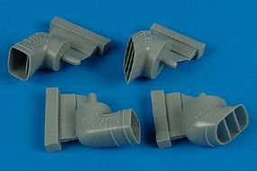 Aires Harrier Gr5/7 Exhaust Nozzles For Hasegawa Plastic Model Aircraft Accessory 1/48 #4469