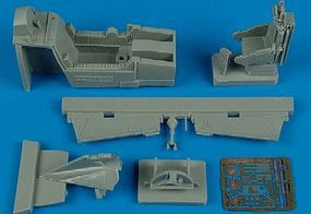 Aires F102A Cockpit Set For a Revell Model Plastic Model Aircraft Accessory 1/48 Scale #4474