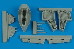 Aires F84F Thunderstreak Wheel Bay For a Kinetic Model Plastic Model Vehicle Accessory 1/48 #4475