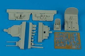 Aires P47M Thunderbolt Cockpit Set For a Tamiya Model Plastic Model Aircraft Accessory 1/48 #4476