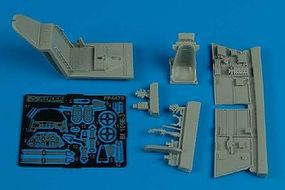 Aires Bf109E3 Cockpit Set For an Academy Model Plastic Model Aircraft Accessory 1/48 Scale #4479