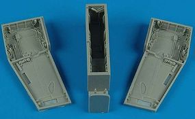 Aires F5E Wheel Bay For an AFV Club Model Plastic Model Aircraft Accessory 1/48 Scale #4490